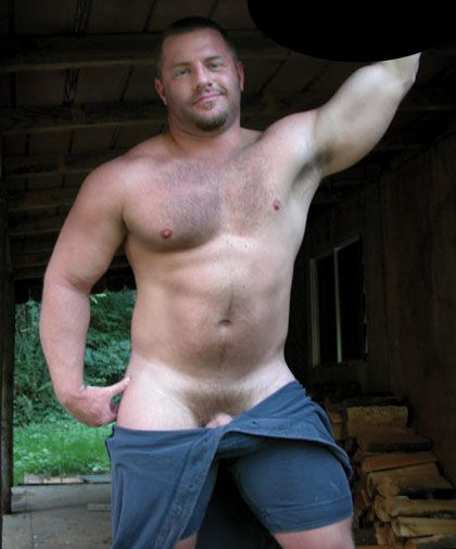 Gay men with hairy chest he deep throats 9
