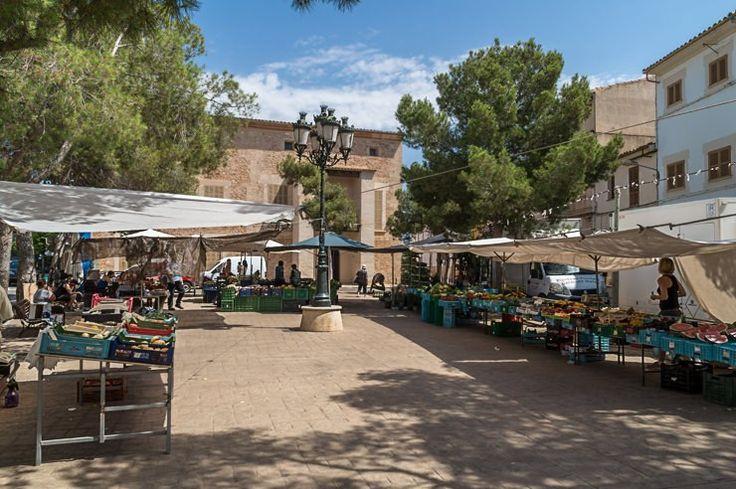 Markt in Campos auf Mallorca und das Bistro Calle Cruz 20