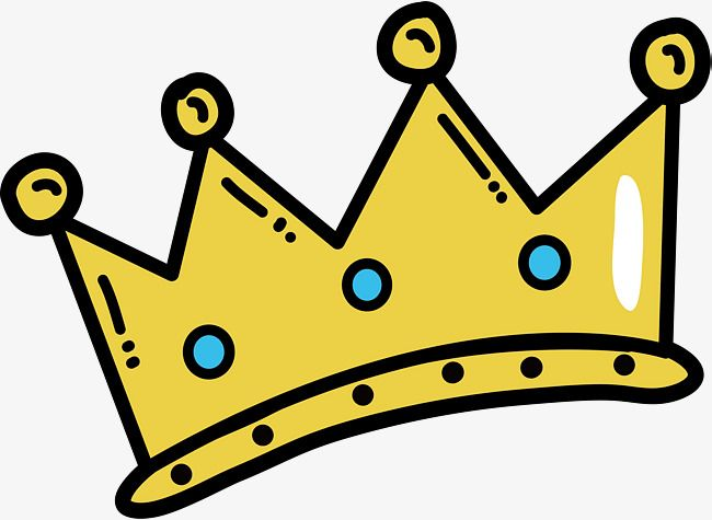 Hand Painted Cartoon Crown Hand Vector Cartoon Vector Crown Vector Png Transparent Clipart Image And Psd File For Free Download Cartoons Vector Hand Painted Crown Png