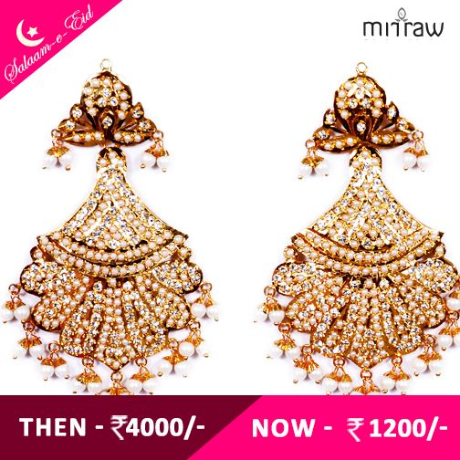Splendid Earrings.Shop Now- http://bit.ly/1Uc1mE2  ‪#‎Salaam‬-e-Eid