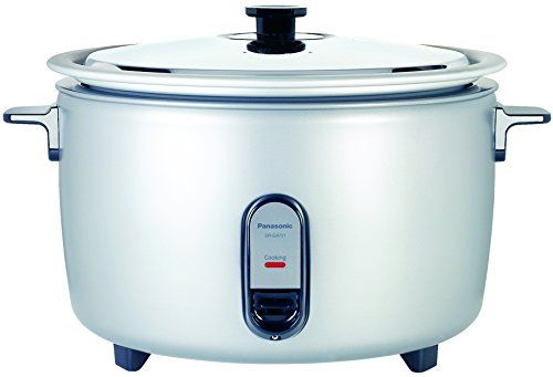 Panasonic SRGA721L 40 Cup Commercial Rice Cooker Silver ** Want additional info? Click on the image.