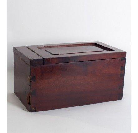 Caja de caoba