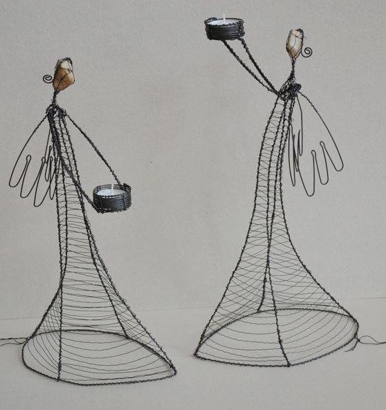 wire art -  Lucie Auerswaldová-Babáková