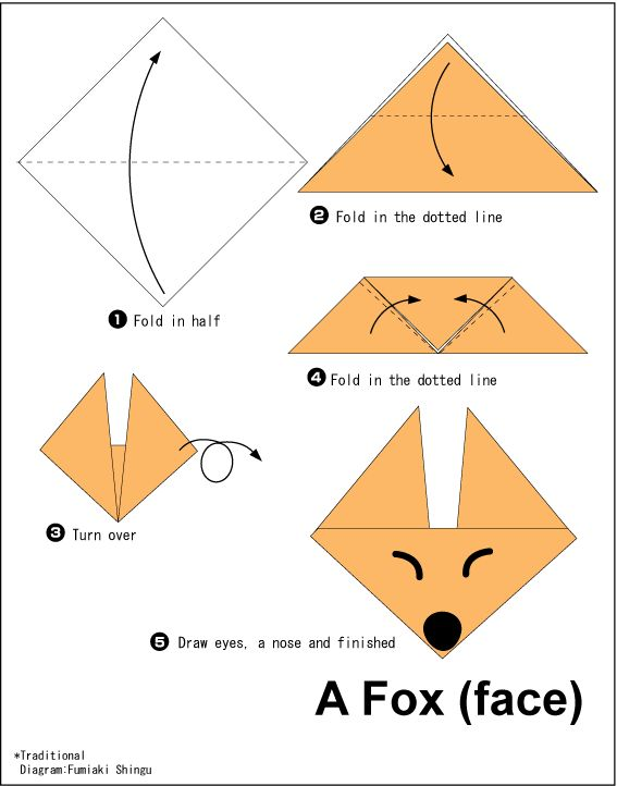 1000 Ideas About Easy Origami On Pinterest Paper