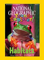 National Geographic Young Explorer back issues to read online. Kids can actually listen and read by themselves & teaching resources available to accompany each issue.