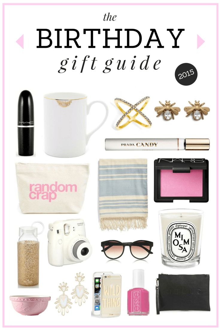 The Ultimate Birthday Gift Guide // What to get your friends & what to ask for yourself