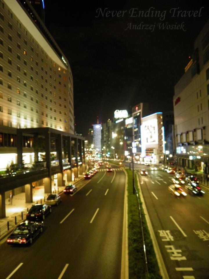 Tokyo, Japan by night  photo made by Andrzej Wosiek