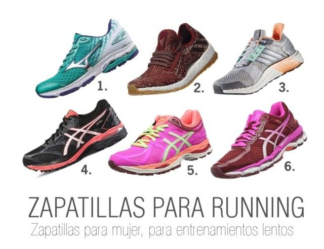 """Zapatillas Running Mujer"" by my-kitsch-world on Polyvore featuring moda"