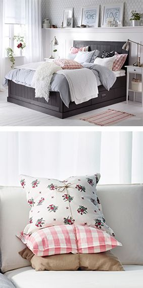 Wake up to spring mornings, in a bedroom inspired by the season!