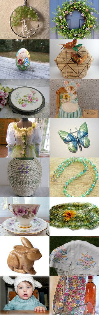 In Like A Lion…. Out Like A Lamb by Sarah Bennett on Etsy--Pinned with TreasuryPin.com