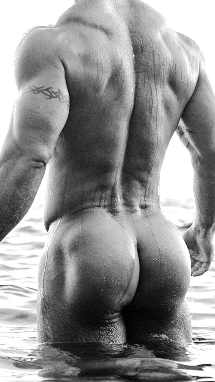 Can perfect nude male butt not joke!
