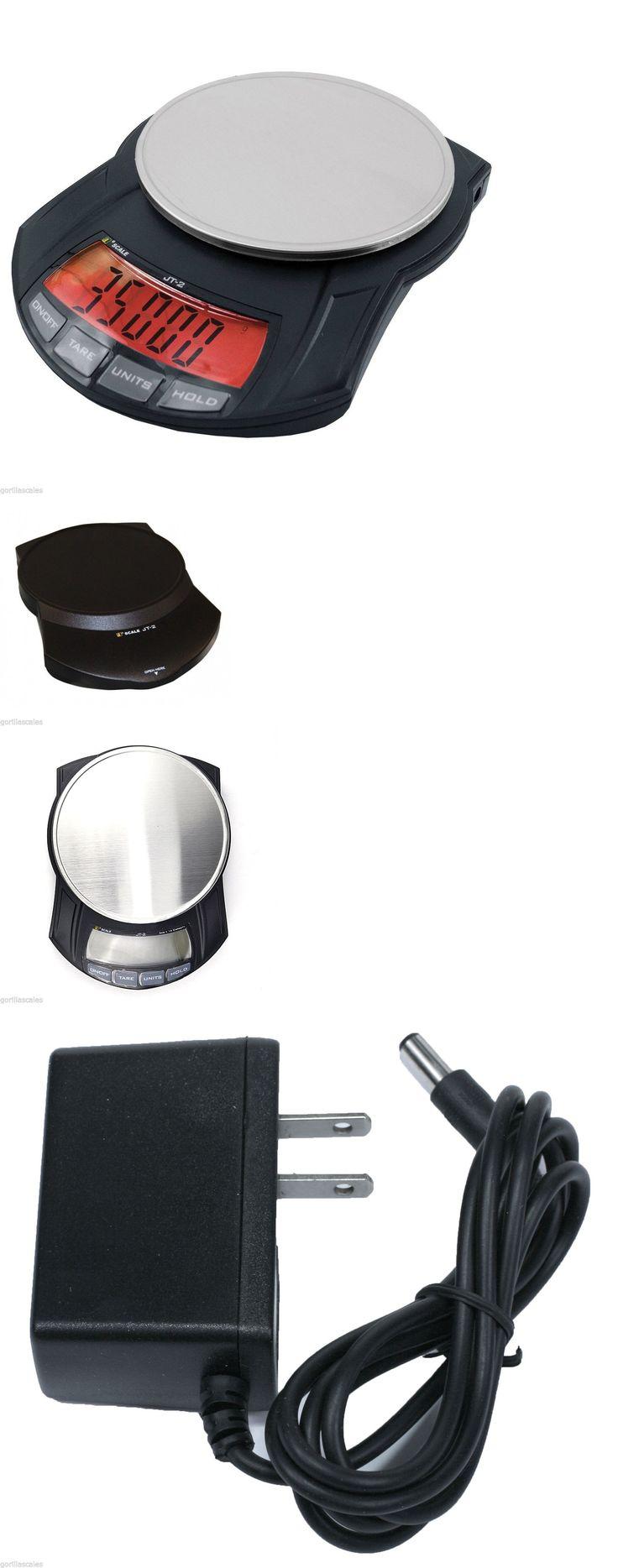 Pocket Digital Scales: Digital Scale 5000G X 1 Gram Jennings Jscale Jt-2 5000 Top Loader Ac Adapter BUY IT NOW ONLY: $39.95