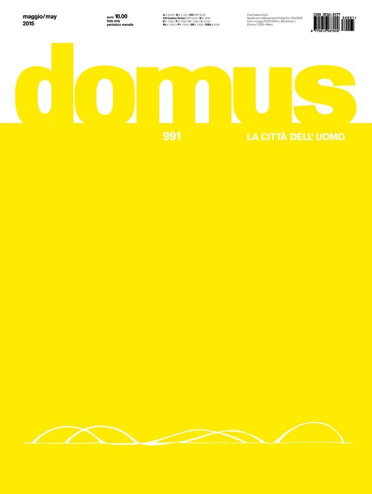 Domus 991, May 2015
