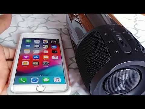 How to pair JBL Pulse 3 bluetooth speaker to Iphone 7 or 7 plus