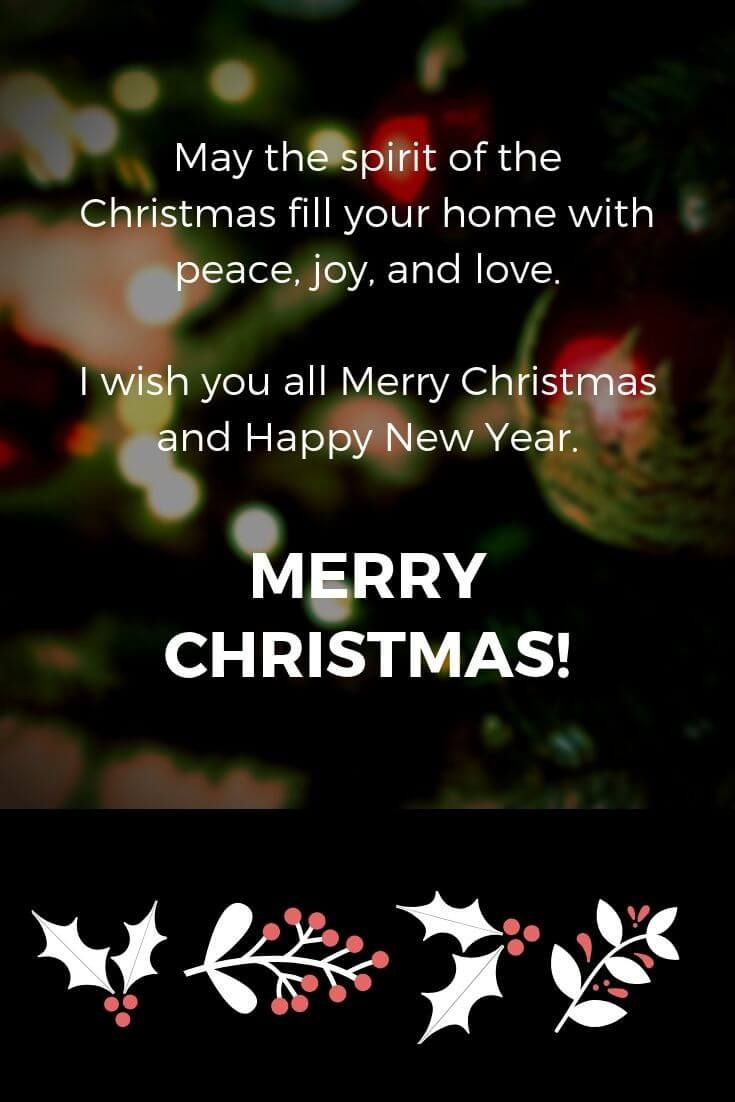 100 Best Merry Christmas And Happy New Year Quotes With Images Merry Christmas Quotes Merry Christmas Quotes Wishing You A Christmas Quotes