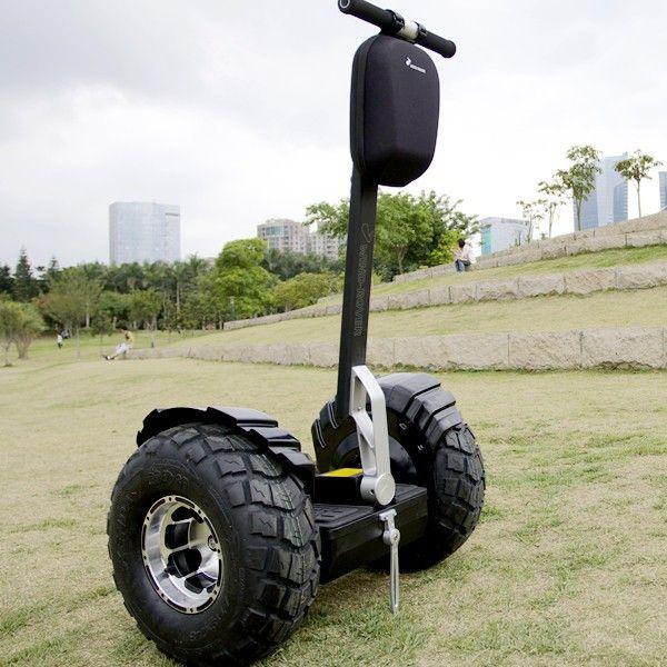 Gyropode tout terrain scooter electrique transporteur personnel noir - www.yonis-shop.com