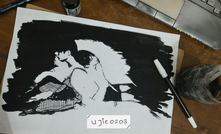 [FA] BTS_VKook V & Jungkook bts fanart art