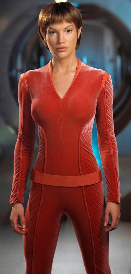 Sub-Commander T'Pol - Star Trek Enterprise - Blalock. From Peter's profile at http://www.writeups.org/fiche.php?id=5953 .
