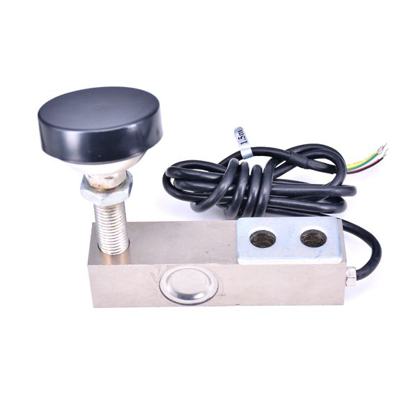 Single Shear Beam Load Cell Sensor, 0-500KG with 4-Core Shielded Cable Weighing Sensor