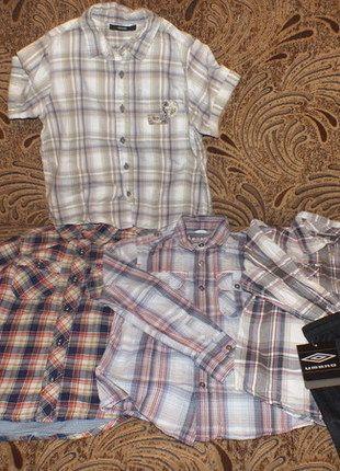 Kup mój przedmiot na #vintedpl http://www.vinted.pl/odziez-dziecieca/koszule-i-t-shirty/12145223-zestaw-5-cio-czesciowy-dla-chlopca-122cm-128cm
