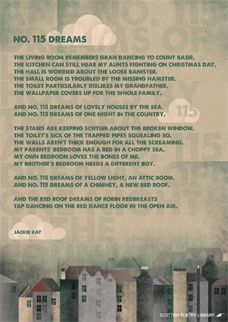 No. 115 Dreams by Jackie Kay | Scottish Poetry Library free posters