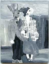 """""""Hunter Gatherer"""" Jackie Berridge, Artist, Southwell, Nottingham, Paintings"""