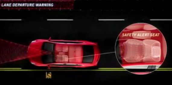 Cadillac Safety Seat Alert