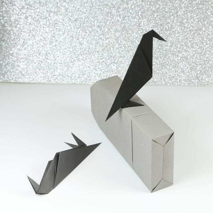 144 best halloween origami images on pinterest