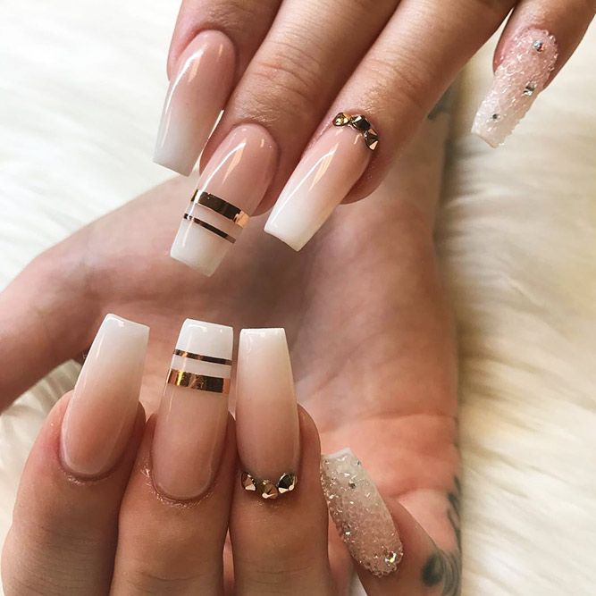 27 Nude Nails Designs For A Classy Look Nail Design Ideas