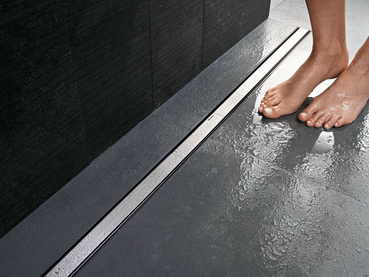 Steel shower channel CLEANLINE - Geberit Italia