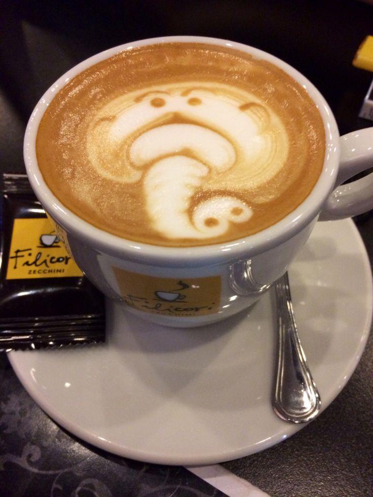 Elephant cappuccino