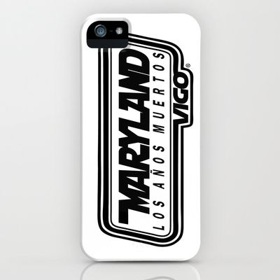 L  O  S    A  Ñ  O  S    M  U  E  R  T  O  S - MARYLAND - vigo - MarylandVigo iPhone & iPod Case