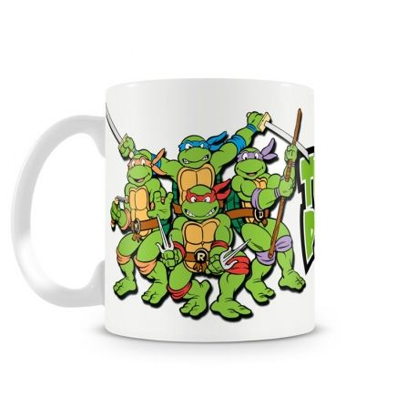 mug les tortues ninja ann es 80 objets cultes des. Black Bedroom Furniture Sets. Home Design Ideas