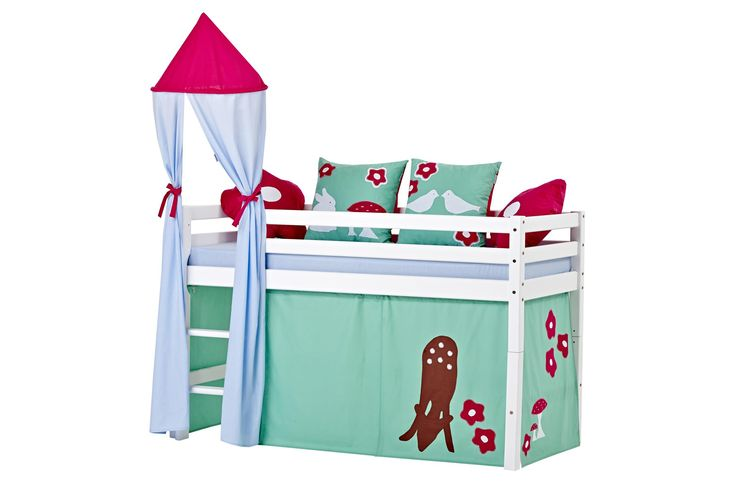 Basic Forest Halfhigh bed by Hoppekids