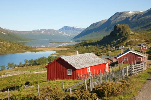 Strø in Valdres, Norway