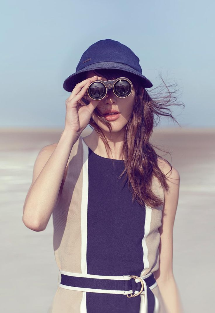 we adore this beach look for summer from Seeberger - German hat manufacturer