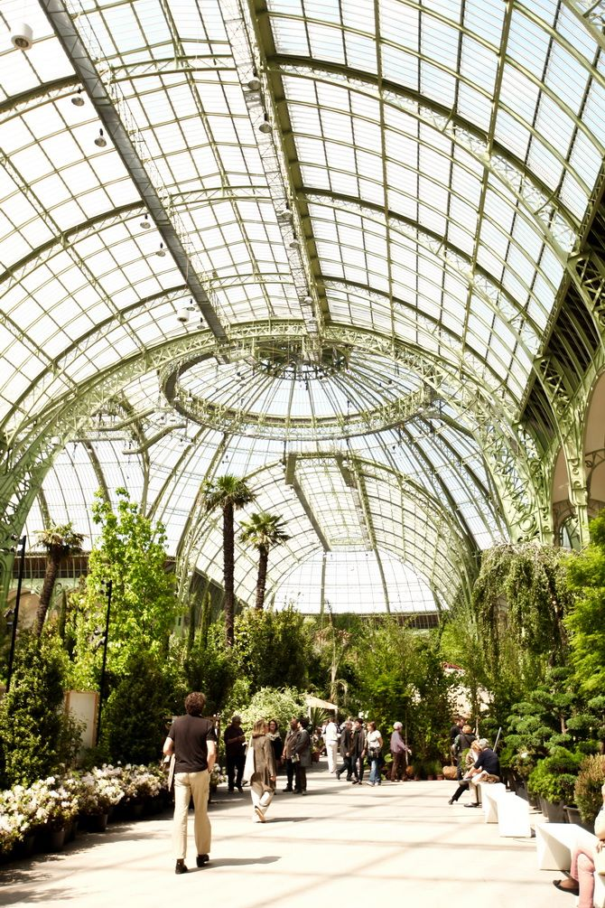 Photos from Versailles weren't the only ones I forgot to publish here. There is also L'Art du Jardin, which took place inside the Grand Palais in Paris