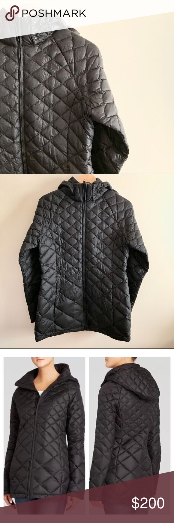 🆕NORTH FACE Goose Down Long Winter Jacket Women M ❄️NEW❄️Authentic NORTH FACE Women's MEDIUM SIZE Premium Goose Down Diamond Quilted Black Long Winter PUFFER Jacket/Coat. 💖WITH DETACHABLE HOOD💖 New without tag (never worn). Beautiful jacket, but I have something similar already. Sleek and flattering fit! Fits true to size with room for layering underneath! ❤️OFFERS WELCOME (Please Use Offer Button)❤️ The North Face Jackets & Coats Puffers