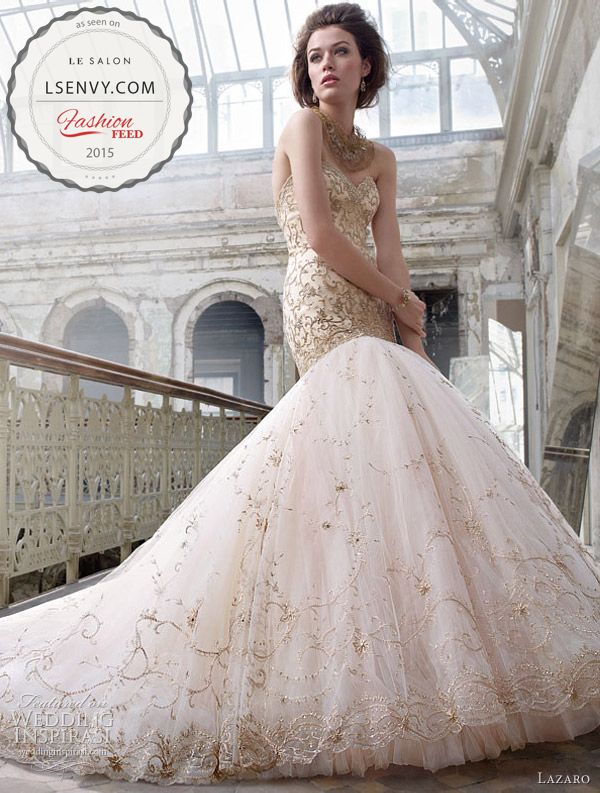 19 best Pink and Blush Wedding Dresses images on Pinterest ...