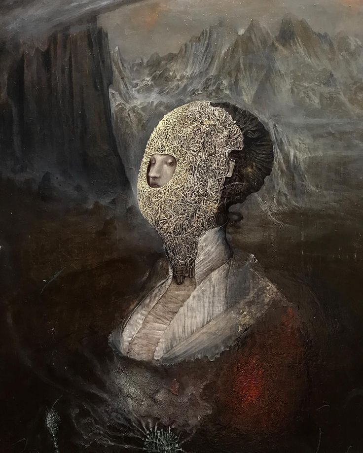 Mercury . OIL in wood ( progress ) Agostino Arrivabene