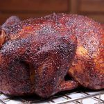 This smoked maple barbecue chicken is delicious beyond words and may be the best smoked chicken you've ever tasted. Also super easy to prepare in your smoker.