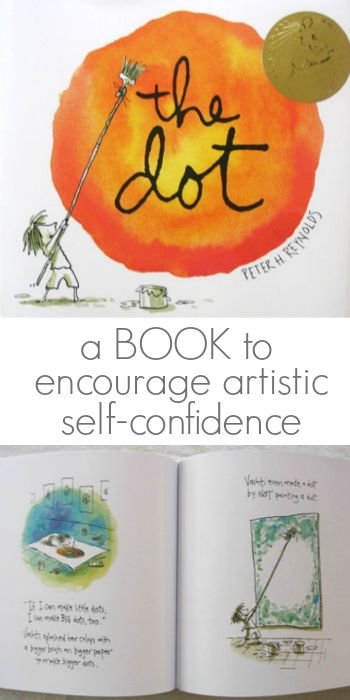A kids picture book about creativity and self-confidence! Have you read Peter Reynolds' books with your kids yet?