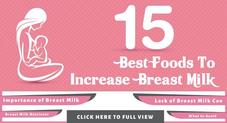25 najboljših živil za povečanje ponudbe mleka v materinem mleku-6551