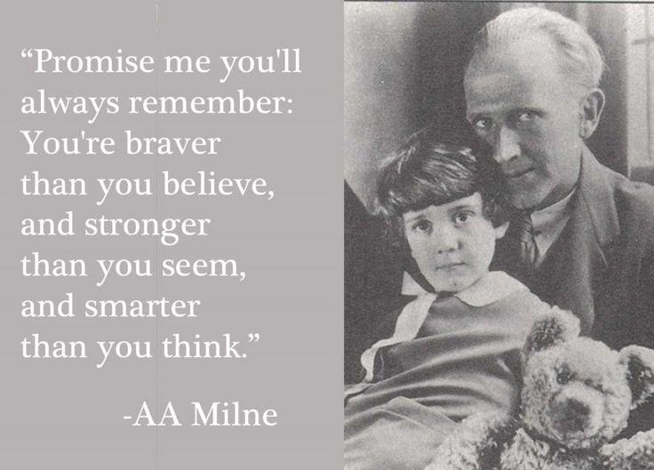 A.A. Milne, creator of Winnie the Pooh