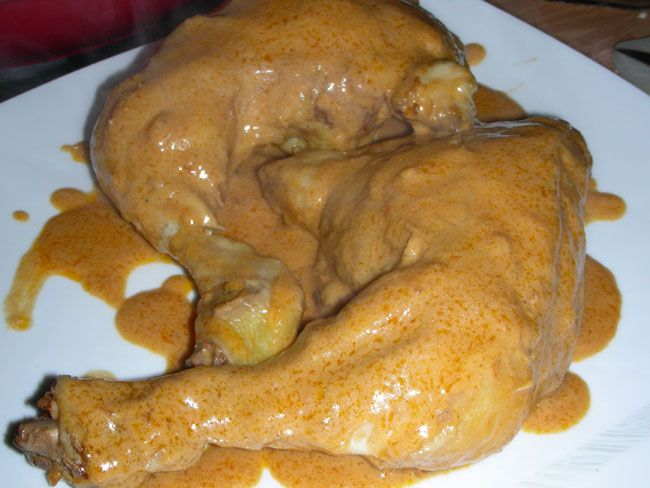 sovracosce di pollo con sciroppo d'acero, senape ed aceto balsamico