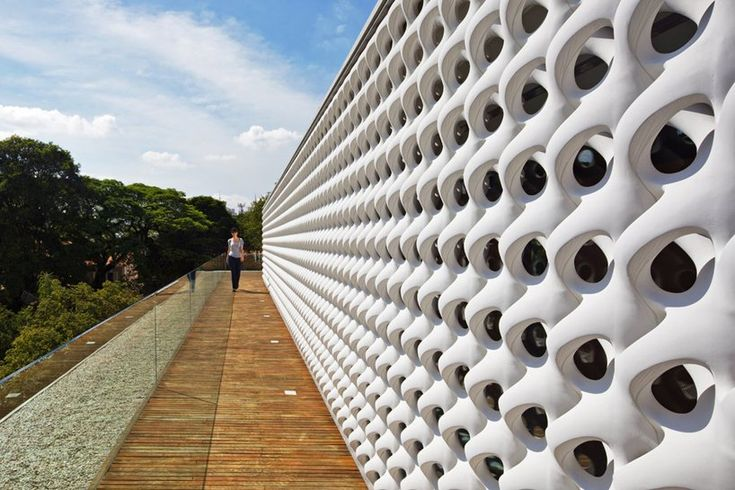 Brazillian architect Marcio Kogan of StudioMK27 has designed the Cobogó House.