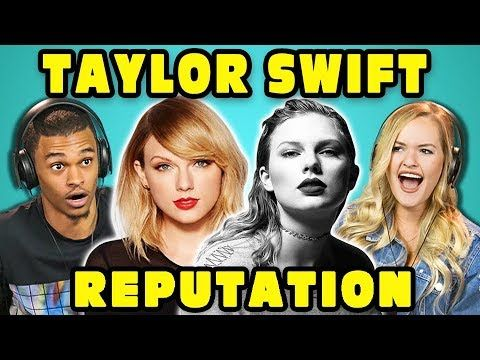 COLLEGE KIDS REACT TO TAYLOR SWIFT - REPUTATION (Full Album Reaction) - YouTube