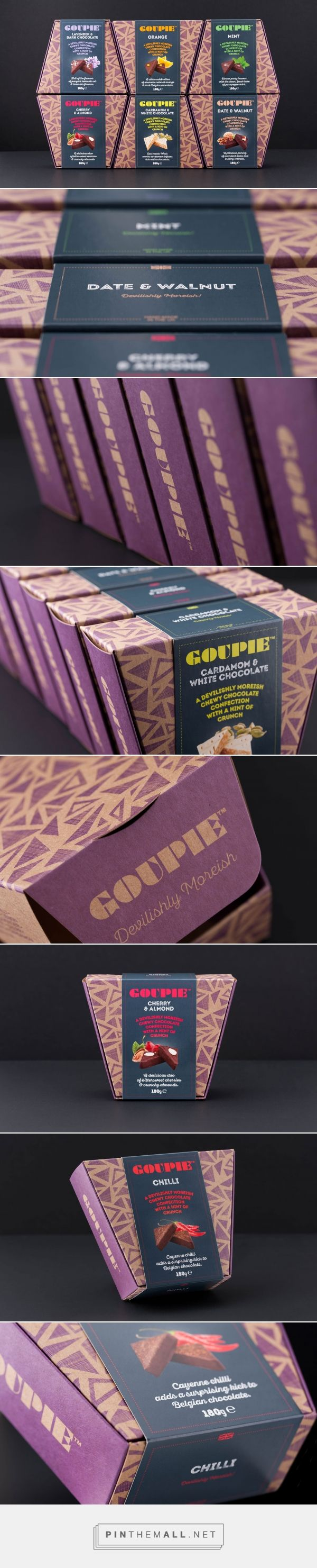 Goupie Confectionery - Packaging of the World - Creative Package Design Gallery - http://www.packagingoftheworld.com/2017/10/goupie-confectionery.html