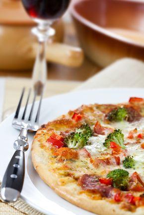 Pizza quatre-saisons / Une pizza de grande classe que vous préparerez en un tournemain