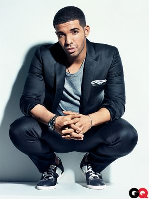 With the right style, in the right clothes, even Drake can look good.